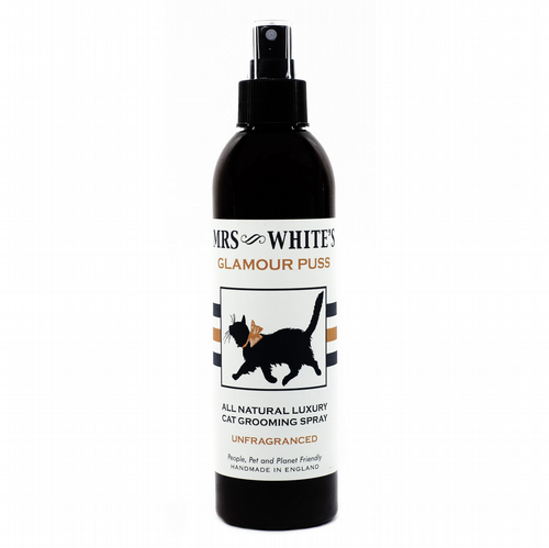 Mrs White's - Glamour Puss (Cat Grooming Spray) 250ml